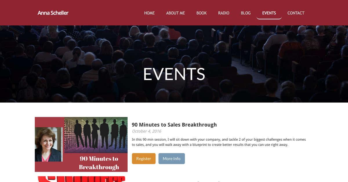 Sales mastery events anna scheller malvernweather Images